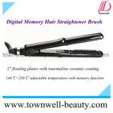 Escova de limpeza de cabelo de memória digital