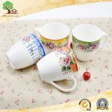 tazze di ceramica del grande latte 500ml per il marchio di Customed della fabbrica
