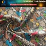 Reticolo del fumetto stampato sul tessuto dell'assegno del poliestere per l'indumento/sacchetti