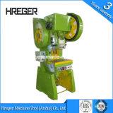 J23 알루미늄 힘 압박 기계 또는 강철 기우는 힘 압박