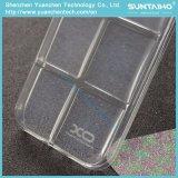 立方体シリーズプラスiPhone 7のための明るいBling TPUの光沢があるフィルムの柔らかい箱