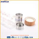 Бутылка конкурентоспособной цены Heart-Shaped белая ясная стеклянная