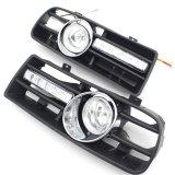 Luz Running Daytime abundante clara externa da grade DRL da grade do carro do diodo emissor de luz que conduz a luz da lâmpada da névoa do diodo emissor de luz para o golfe Mk4 da VW 97-06