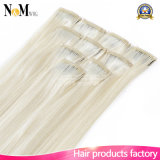 European Russian Blonde Virgin Hair 613 Couleur Bleach Clip Hair Extensions