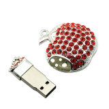 Movimentação de cristal do flash do USB da vara da memória do USB do diamante USB3.0