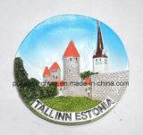 Магнит холодильника эстонии туристский