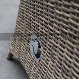 Weidenrattan-im Freiengarten-Möbel Reclinable des patio-Mtc-242, das Stuhl-Set speist