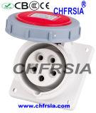 Prueba industrial del agua de los socketes de los enchufes IP67 para el propósito 5p de Harzadous