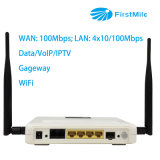 Router do CPE com IPTV VoIP e WiFi