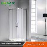 Cabine do chuveiro da porta deslizante de aço 304 inoxidável para o banheiro