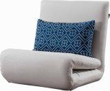 ファブリックによって折られる不精なソファーベッド