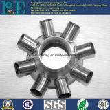 Liga de alumínio da precisão feita à máquina forjando flanges
