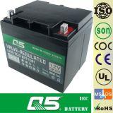 bateria acidificada ao chumbo da bateria elétrica do Profundo-Ciclo da bateria da cadeira de rodas 12V38AH