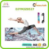 Комбинированная циновка йоги. Роскошный, Non-Slip, влажный вещество-поглотитель