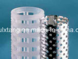 Pp String Wound Filter, Made van FDA pp Filter Core of Sst Core en pp Yarn of pp Fibrillated Yarn of Bleached Cotton Yarn