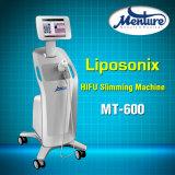 2016 Machine van het Vermageringsdieet van het Lichaam van Hifu van de Ultrasone klank van de Technologie de Liposonix Geconcentreerde