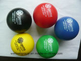 Neue Colorful Sports PU Antistress Ball mit Client Logo