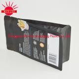 FDA quadratische Unterseite/Kasten-Beutel mit Reißverschluss für Nahrung