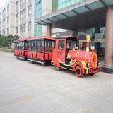 Поезд парка атракционов туристский электрический Trackless (RSD-442Y-2)