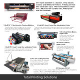 Exhibition d'attaccatura Booth Showing Banner di Digital Printing
