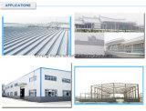 Un Coste-Peformance más alto que el acero de PPGI galvanizado cubriendo precio del material de construcción del metal de hoja
