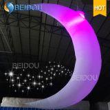 Decorações infláveis iluminadas diodo emissor de luz do balão dos caráteres dos modelos dos brinquedos do costume da fábrica