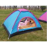 自動2人屋外のキャンプ浜の耐水性の日焼け止めのテント