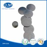 Ímã flexível aglomerado redondo de NdFeB para a embalagem (DPM-016)