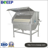 Filtro de tambor rotatorio ampliamente utilizado en la filtración urbana de las aguas residuales de la industria