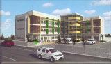 Prefab здание дома резиденции стальной рамки постоянное временно