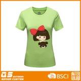 Mode T-Shirt&#160 à séchage rapide de l'impression des femmes ;