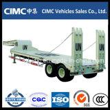 Cimc 낮은 침대 트럭 트레일러