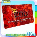 カスタマイズされたロゴの印刷PVC MIFARE標準的な1K RFIDスマートカード