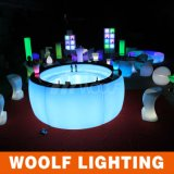 Hotselling Bar Furniture LED Round Light Bar Counter
