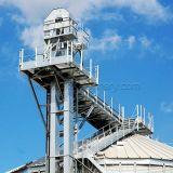 ТеплостойкmNs портативный вертикальный резиновый ковшевой конвейер пояса угля