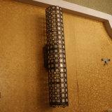 Lampada da parete madreperlacea decorativa del lato del letto dell'hotel europeo