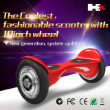 2016新しいProduct Double Bluetooth Speaker Scooter 10inch Electric Scooter Motor