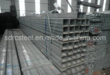 Ранг ERW ASTM A53 Pre-Гальванизированная квадратная стальная труба