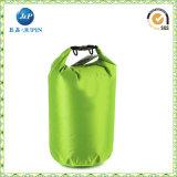 Corduraの水着(JP-WB031)のための緑の乾燥したハンド・バッグの女性の浮遊物の防水袋