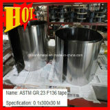 Gr5 Titanium Alloy Foil für Equipment Use