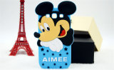 Form-Stern Mickey Silikon-Handy-Fall für iPhone (XSD-060)