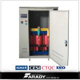 Tipo seco trifásico transformador de la corriente eléctrica de 100kVA 480V 220V