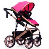 Carrinho de criança de bebê do carro de bebê da elevação e da forma