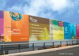 Frontlit PVC Flex Banner PVC Film (200dx300d 18X12 300g)