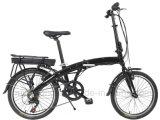 20 bicicleta plegable eléctrica de la batería de litio de la pulgada 250W