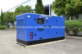 물에 의하여 냉각되는 침묵하는 60kVA 디젤 발전기