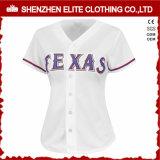Il pullover in bianco su ordinazione adatto di baseball di Dri comercia