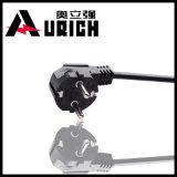 PVC Balck Pin 0.75mm2 Кореи 3 вокруг шнура питания чайника Skillet Kc электрического