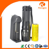 강력한 800lumen 5modes U2 LED 재충전용 LED 소형 플래쉬 등