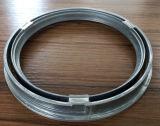 A liga de alumínio da lâmpada da iluminação do diodo emissor de luz morre o anel da circular da carcaça